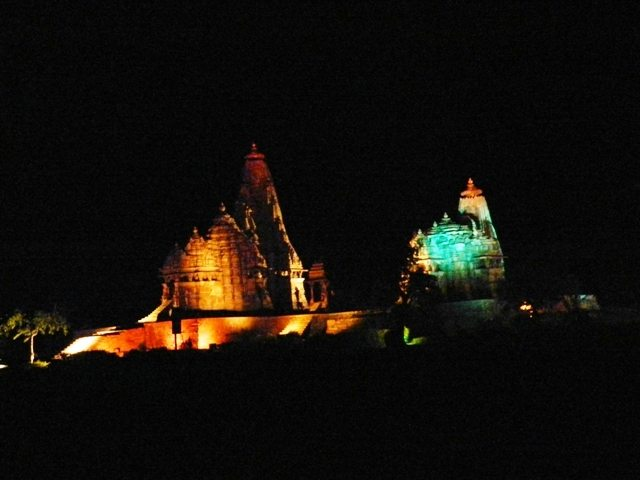 Khajuraho Temples at Night (3)