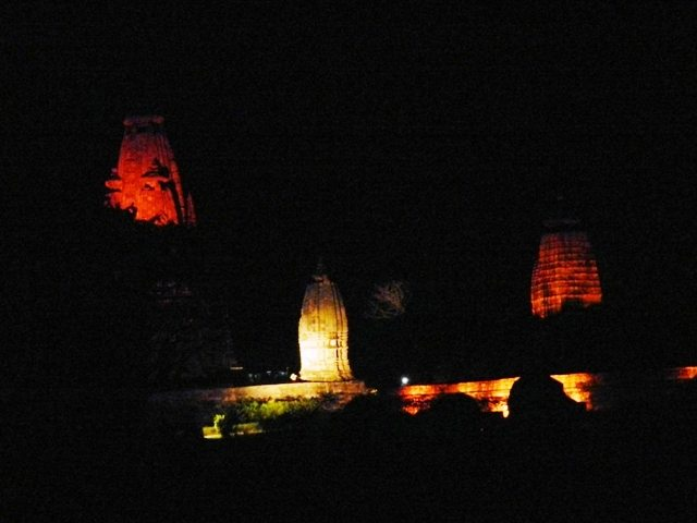 Khajuraho Temples at Night
