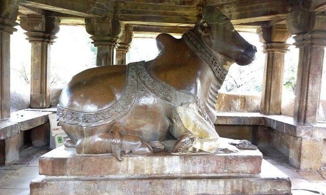 Nandi at Nandi Temple
