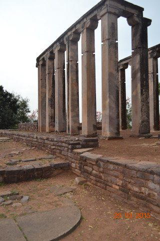 Pillars At Sanchi
