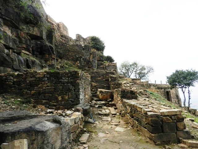 Ruins of Ajaigarh Fort