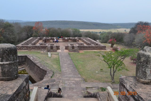 old monastery at Sanchi