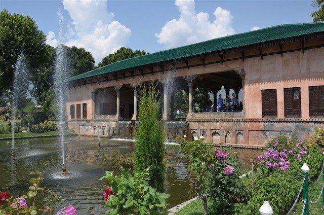 Inside Shalimar Garden