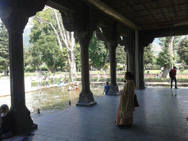 Mughal Architecture in Shalimar Garden