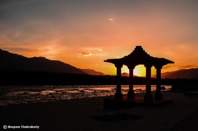 Sunset at Sindhu Ghat