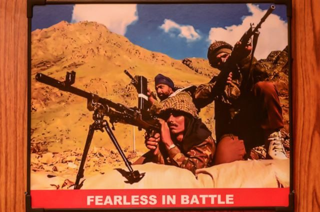 A photo of Kargil War 1999