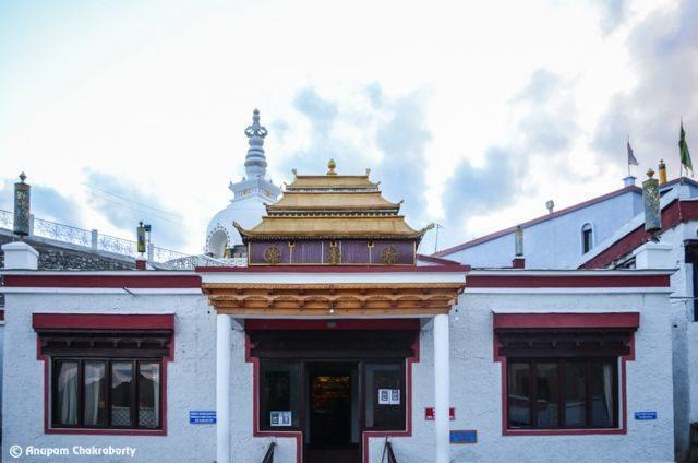 Lord Buddha Temple at Shanti Stupa