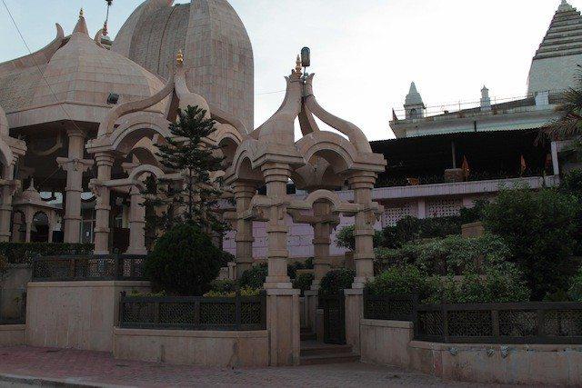 A Jain temple at Madhuban