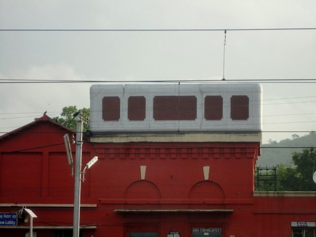 Innovative water tank at Gomoh railway station, which was made so many decades ago