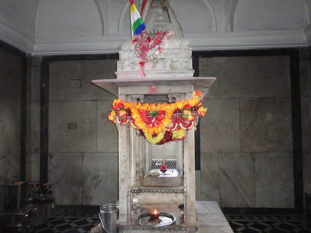 The Tonk inside Parasnath Mandir