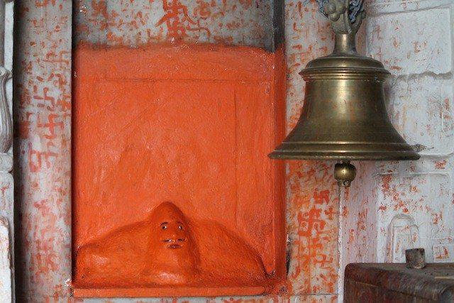 Sculpture of Sh.Parasnath ji inside Parasnath Mandir