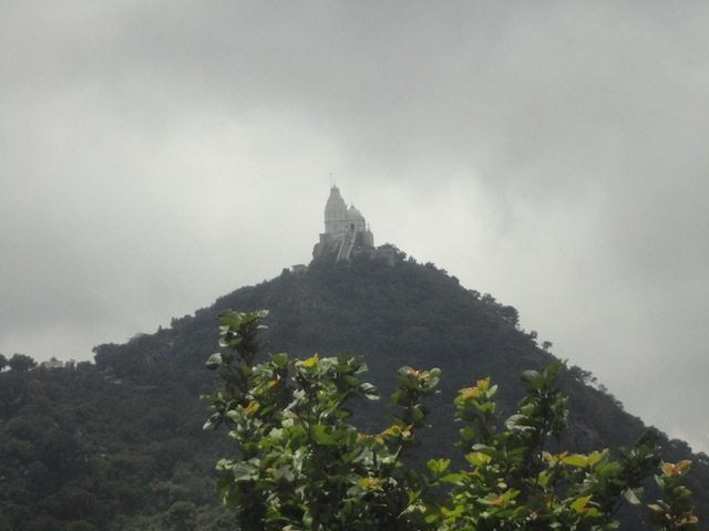First view of Parasnath Temple