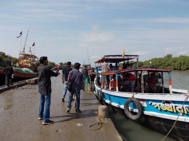 जम्बू द्वीप का परिक्रमा छोटी नाव या फेरी से