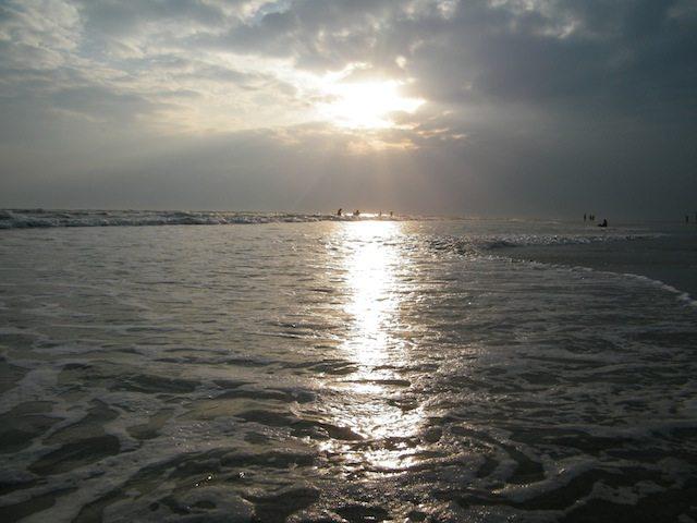बकखाली का शान्त समुद्र तट