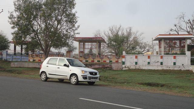 Martyr Memorial at Jakhrana village