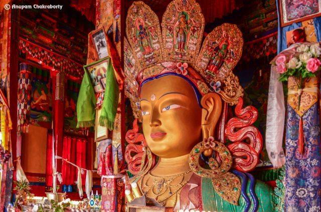 Maitreya Buddha at Thiksey