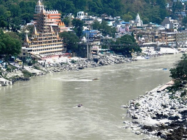 A view of Rishikesh