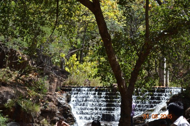 Artificial fall at Bee falls