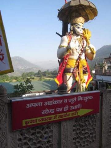 The big Hanuman temple you can't miss