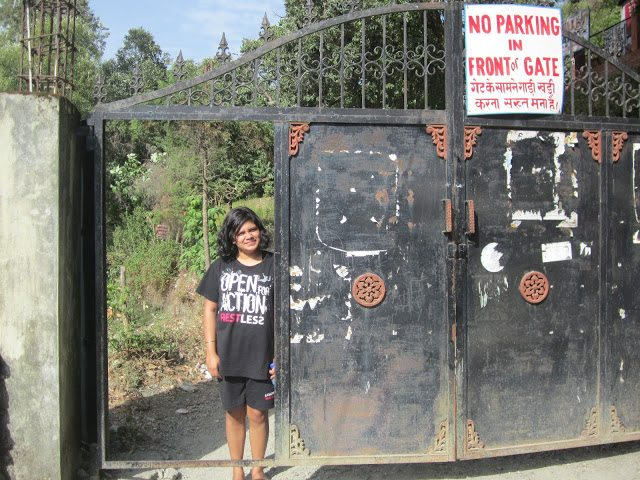 """The famed """"Black Gate"""""""