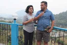 From the top of Cafe Brownies, Bhimtal