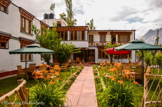 Garden Lawn of Hotel Sten Del
