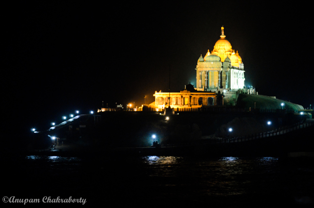 Vivekananda Rock Memorial - Night View