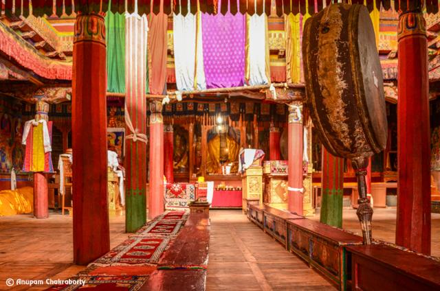 Inner Sanctum of 150 years old  Monastery
