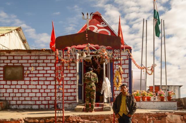Ganesh Temple at Khardung La