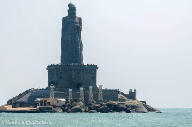 Statue of saint poet Thiruvalluvar