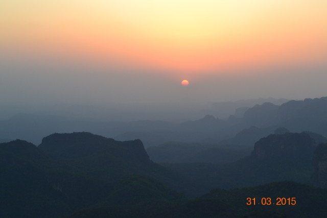 Sunset at Doopgarh