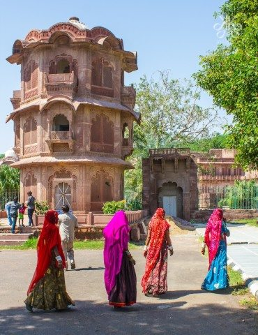 The Ek Thamba Mahal At Mandore Garden is very popular among the tourists