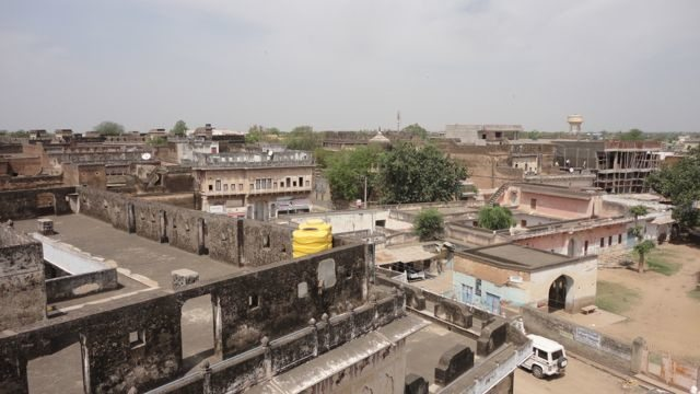 The city view from atop a haveli