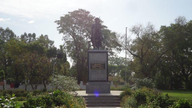 Statue of Jhujhar Singh Nehra