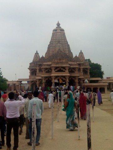 सांवलिया सेठ मंदिर प्रांगण