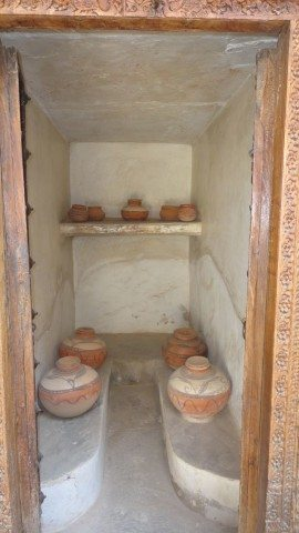 Water-storage in haveli