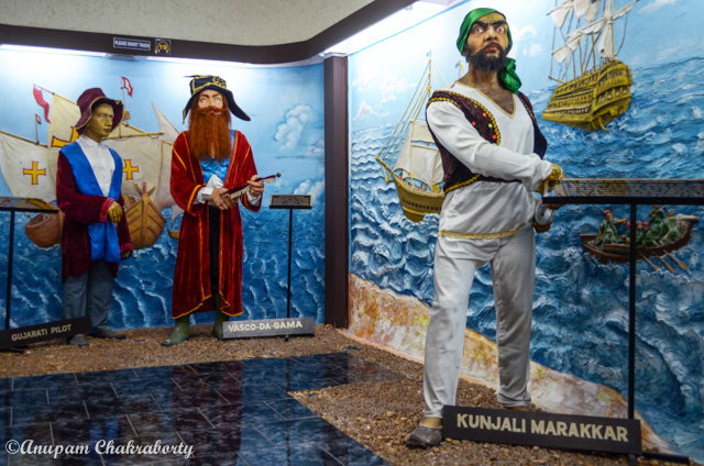 A Model of great traders, Vasco da Gama on the middle