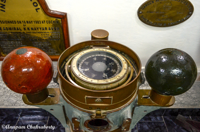 Compass of a ship