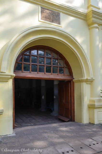 Entry Door of the Church