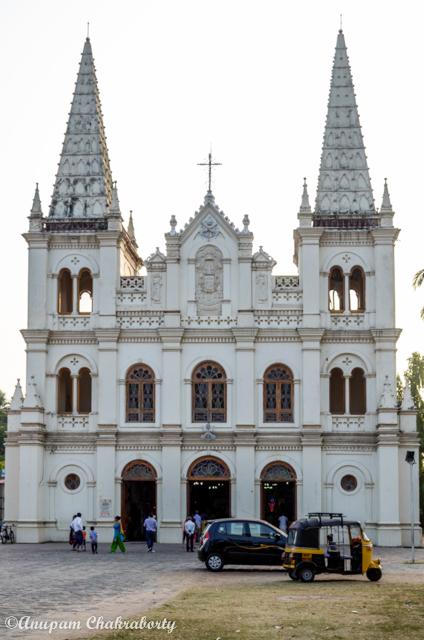 Santa Cruz Basilica is a Beautiful Cathedral at Fort Kochi