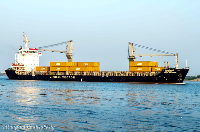 You may find cargo ships on the Arabian Sea at Fort Kochi