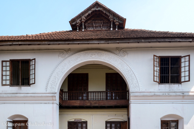 A Balcony of the old Palace
