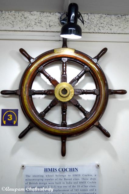 Steering wheel of HMIS Cochin