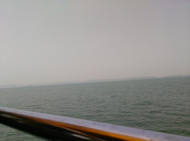 View from Cruise at Bargi