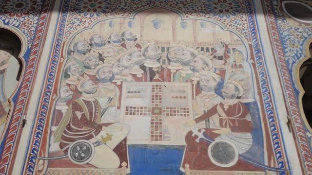 Fresco-bono painting