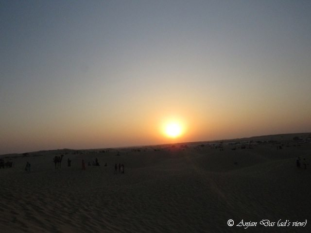 Sunset at Thar
