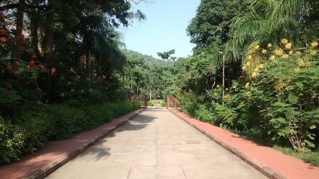 मंदिर का रास्ता