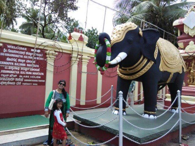 Statue outside  Kudroli Temple-1