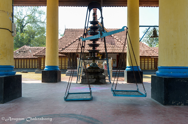 A weighing scale in the temple compound