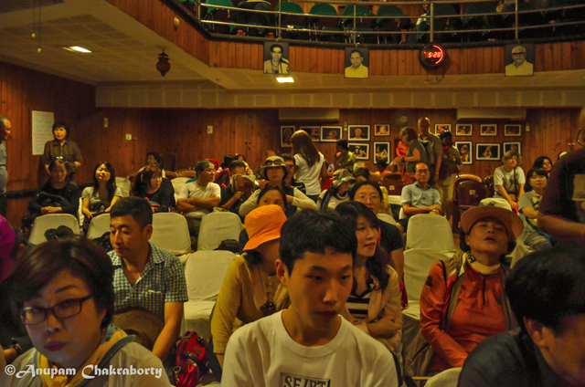 Audience in the Kathakali Centre